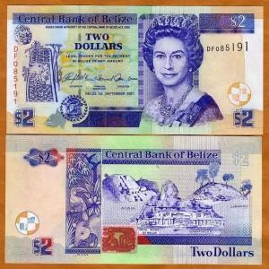 белизский доллар (BZD)